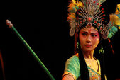 China opera Iron Fan Princess — Stock Photo