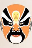 Chinese opera face — Stock Photo