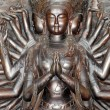 Thousands hands guanyin statue — Stock Photo