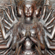 Stock Photo: Thousands hands guanyin statue