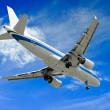 Royalty-Free Stock Photo: Aeroplane