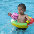 Swimming boy — Stock Photo #2598552