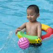Stock Photo: Swimming boy