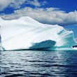 Ice Berg in Newfoundland — Stock Photo