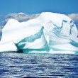 Ice berg i newfoundland — Stockfoto