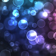 Stock Photo: Abstract glowing circles