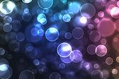 Abstract glowing circles — Stock Photo