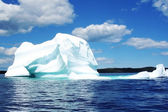 Iceberg in Atlantic Ocean — Stock Photo