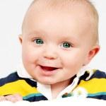 Closeup of Cute little baby boy — Stock Photo