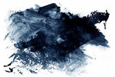 Blue abstract paint — Stock Photo