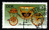 DDR - CIRCA 1985: A postage stamp — Stock Photo