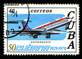 CUBA - CIRCA 1979: A postage stamp — Stock Photo
