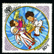 MONGOLI- CIRC1979: postage stamp — Stock Photo #2065737