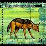 Постер, плакат: BURUNDI CIRCA 1976: a poststamp