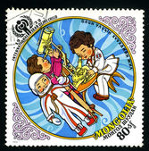 MONGOLIA - CIRCA 1979: a postage stamp — Stock Photo