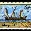 CUBA - CIRCA 1972: A postage stamp — Stock Photo #2150121