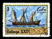 CUBA - CIRCA 1972: A postage stamp — Stock Photo