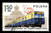 POLAND - CIRCA 1983: A postage stamp — Stock Photo