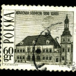 POLAND - CIRCA 1966: A postage stamp — Stock Photo