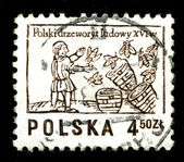 POLAND - CIRCA 1974: A postage stamp — Stock Photo