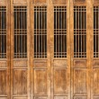 Chinese old style door - Stock Photo