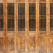 Stock Photo: Chinese old style door