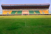 Estádio - campo e tribunas — Fotografia Stock