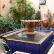 Courtyard Fountain — Stockfoto