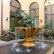 Courtyard Fountain — Stock Photo