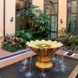 Courtyard Fountain - Stock Photo