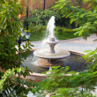 Stock Photo: Fountain in Garden