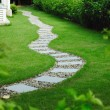 Garden stone path — Stock Photo #1879939