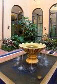 Courtyard Fountain — ストック写真