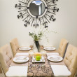 Dinner table setting — Stock fotografie