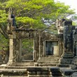 Stock Photo: Ruined temple in central Angkor thom