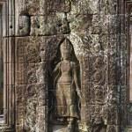 Sculpted wall, Angkor Wat — Stock Photo #1880577