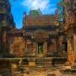 Ruined temple in Angkor — Stock Photo #1880650