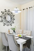 Diner rum inställning — Stockfoto