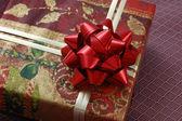 частью подарочной коробке — Стоковое фото