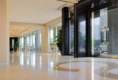 Hallway of hotel — Stock Photo