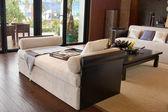 リビング ルーム、モダンな家具 — ストック写真