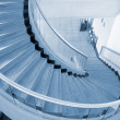 Blue spiral Stairs — Stock Photo #2360931