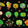 Royalty-Free Stock Imagen vectorial: Trees