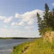Stock Photo: Northern river