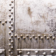 Royalty-Free Stock Photo: Old metal tank with rivets