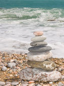 Stones for meditation — Stock Photo