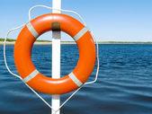 Lifebuoy ring — Stock Photo