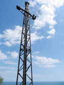 Electric mast — Stock Photo