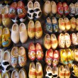 Holland wooden shoes - Stock Photo