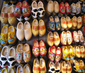 Holland wooden shoes — Stock Photo